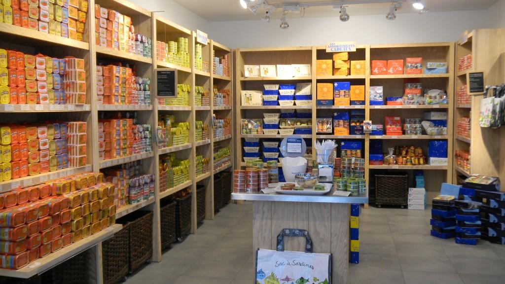 Магазин сардин